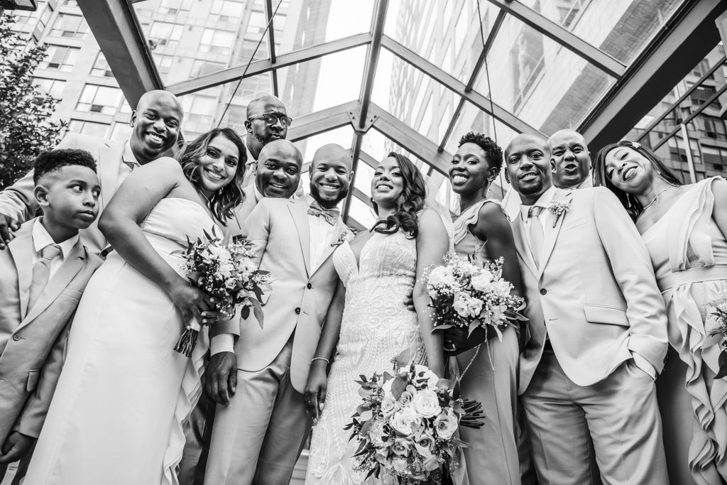 modern wedding photography downtown Toronto knorthphotography