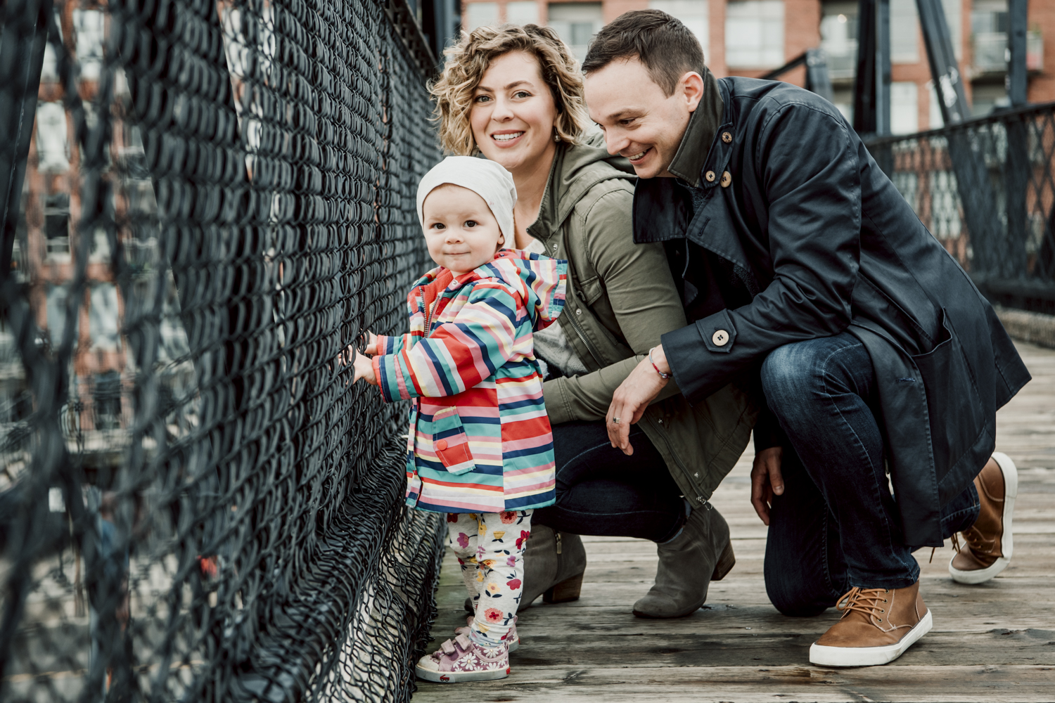 family portraits on a familiar stroll through the neighbourhood, Toronto. 2019